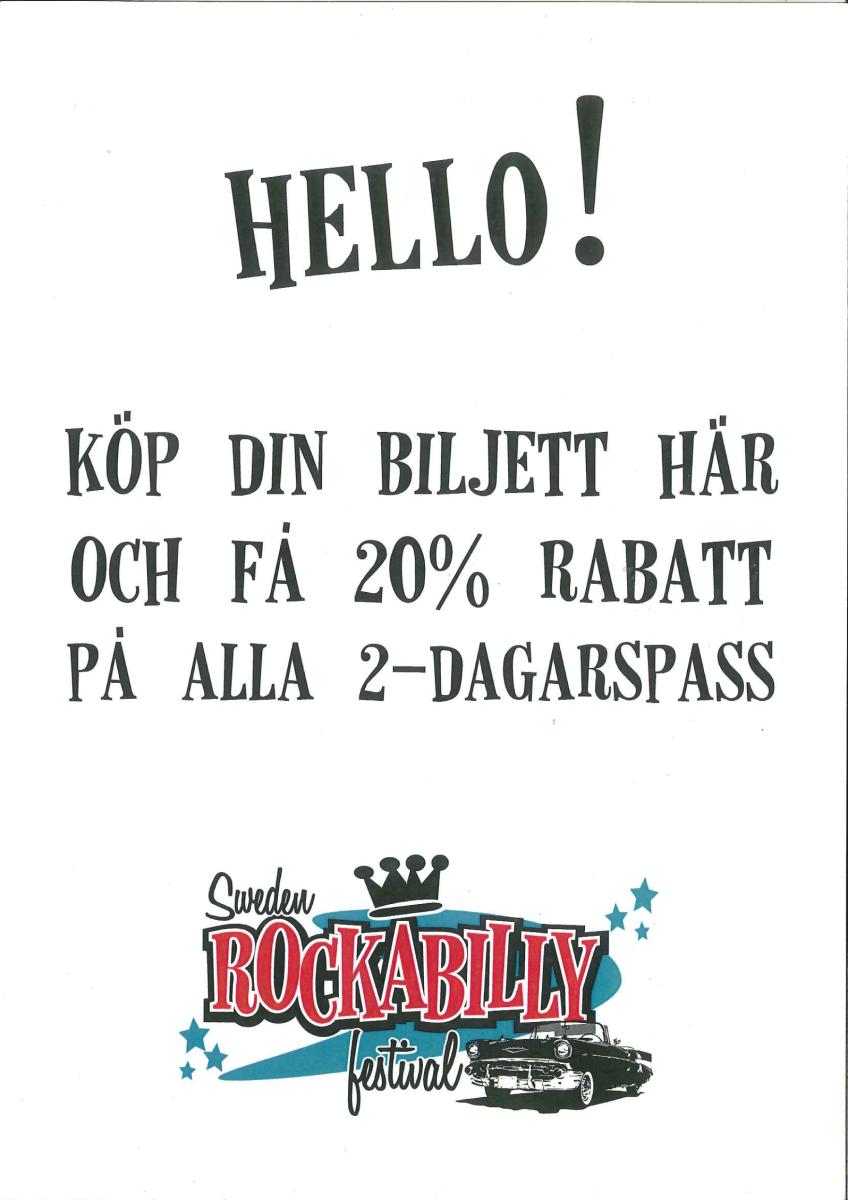Rockabillyfestival 1 2 Juli På Gröna Lund I Lerdala Billingens